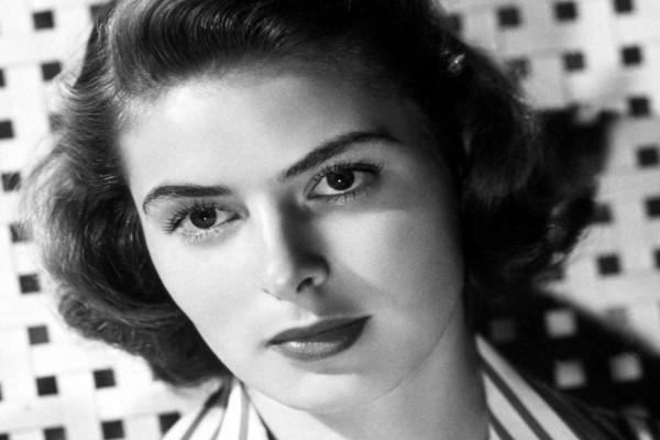 La actriz Ingrid Bergman