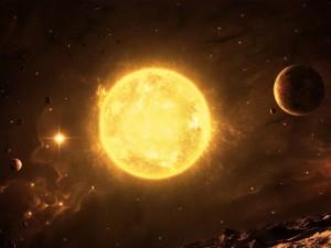 Postal: Nuestro Sol
