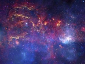 Postal: Nebulosa en el espacio