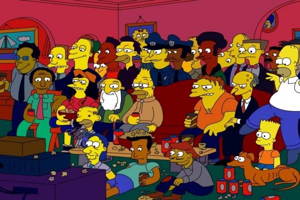 "La gran familia de ""Los Simpson"""