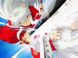 Postal: Inuyasha vs Sesshomaru