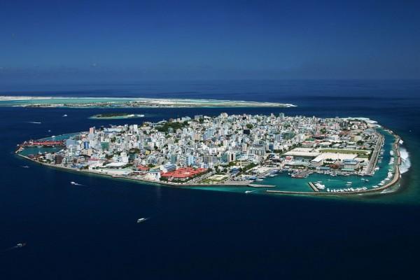 Malé, capital de las Maldivas