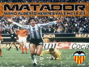 Postal: Kempes Matador