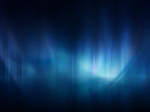 Postal: Aurora azul