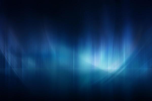 Aurora azul
