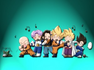 Postal: Los Cantantes de Goku