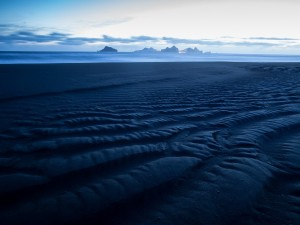Postal: Playa azul