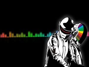 Dibujo de Daft Punk