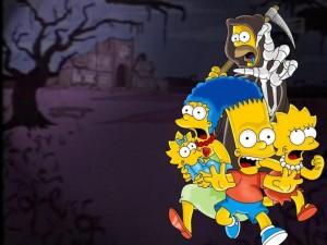 Los Simpsons en Halloween