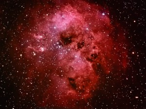 Postal: Nebulosa Auriga