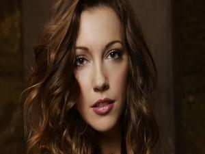 La actriz Katie Cassidy