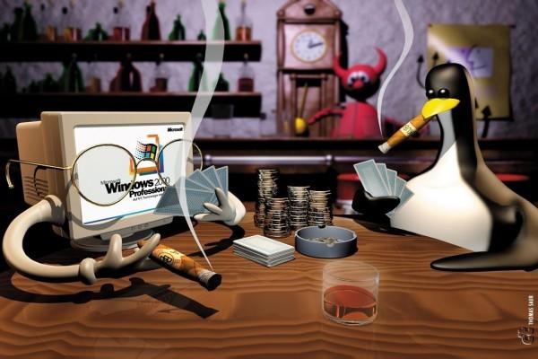 Partida Windows vs Linux