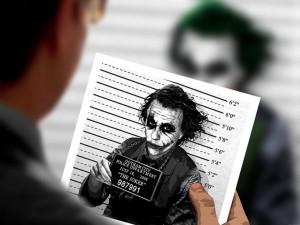 Foto policial del Joker