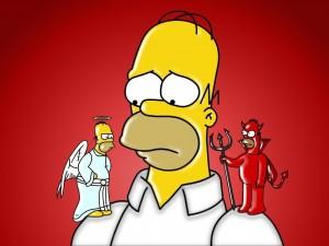 Postal: Homero Bueno y Malo