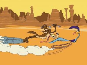 Coyote y Correcaminos