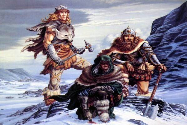 Drizzt, Bruenor y Wulfgar
