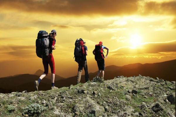 Ruta por la montaña