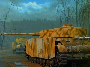 Panzer visto por detrás
