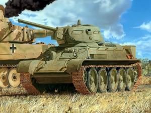 Tanque Tiger destruido