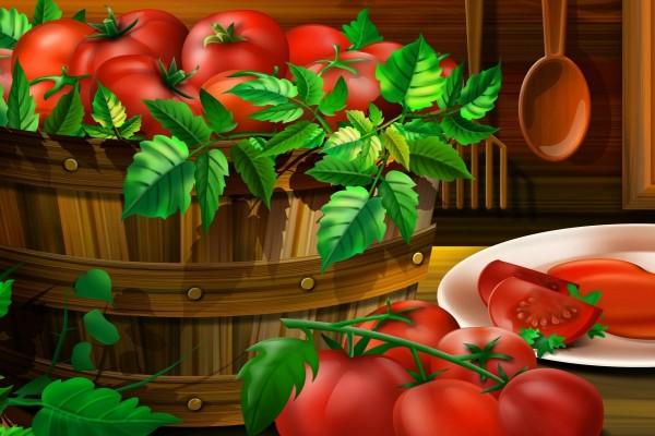 Tomates 3D