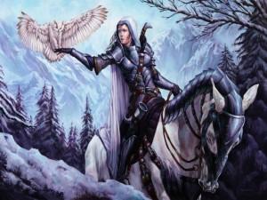Guerrera del bosque de hielo