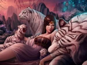 Princesa entre tigres