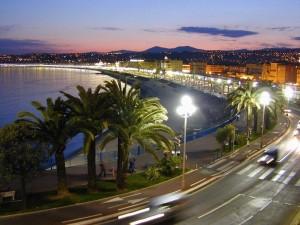 """El """"Paseo de los Ingleses"""" en Niza, Francia"""