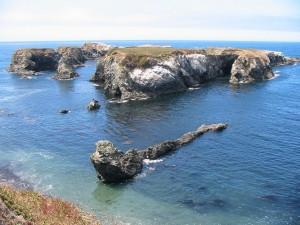 Islas cercanas a Mendocino, California
