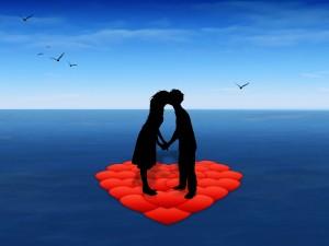 Amor en el océano