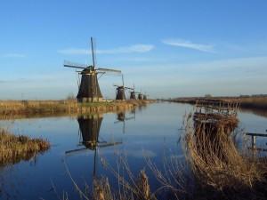 Molinos de viento de Kinderdijk, Países Bajos