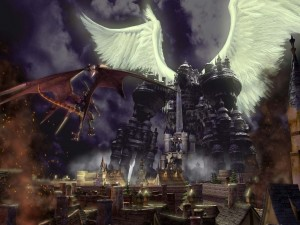 Bahamut vs Alexander (Final Fantasy 9)