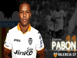 Dorlan Pabón, Valencia CF