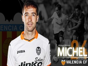 Postal: Michel, Valencia CF
