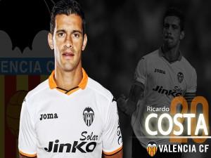 Postal: Ricardo Costa, Valencia CF
