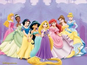 Postal: Princesas Disney