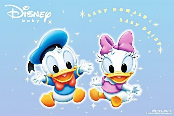 Bebé Donald y Bebé Daisy