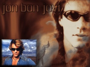 Jon Bon Jovi con gafas de sol