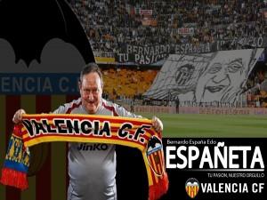 Postal: Españeta, utillero histórico del Valencia Club de Fútbol