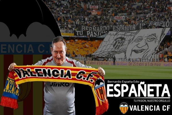 Españeta, utillero histórico del Valencia Club de Fútbol