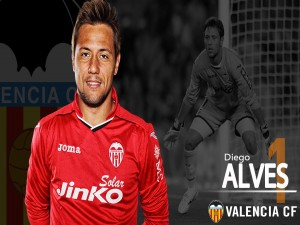 Diego Alves, portero del Valencia CF