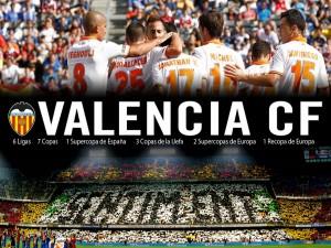 Postal: El Valencia Club de Fútbol