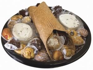 Postal: Cannolo con pastelitos