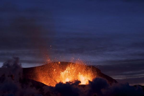 Erupción del volcán Eyjafjallajökull (Islandia)