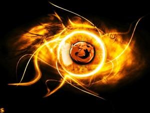 Postal: El ojo de Firefox