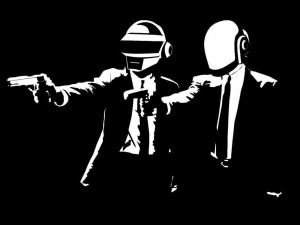Daft Punk al estilo de Pulp Fiction