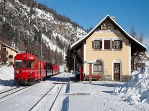 Tren reversible del Ferrocarril Rético (Suiza)