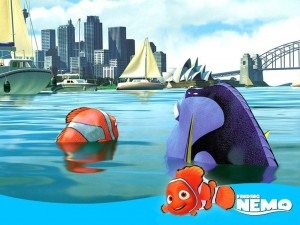 Postal: Buscando a Nemo