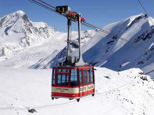 """Postal: Funicular """"Rote Nase"""", Zermatt"""