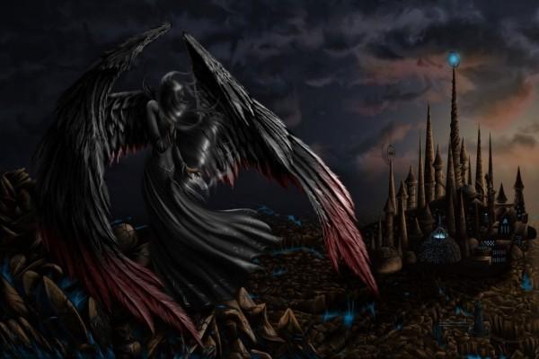 Ángel de la oscuridad