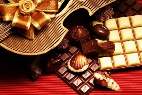 Violín y chocolates